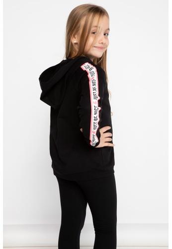 DeFacto black Long Sleeve Cotton Hoodie 8A7A6KA169D753GS_1
