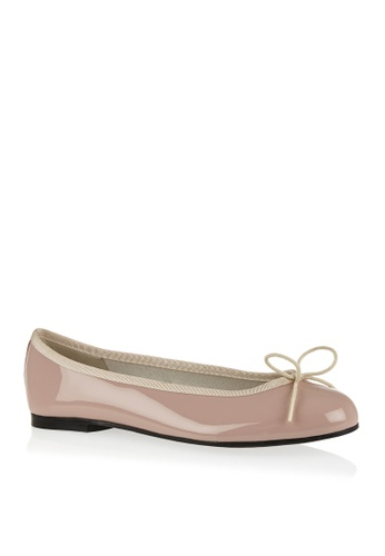 Covet pink French Sole Henrietta Ballet Flats CO331SH09EAOPH_1