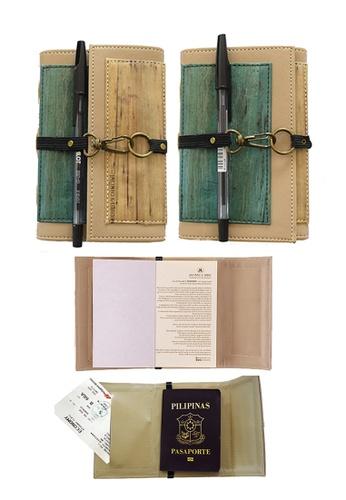 Jacinto and Lirio multi Artisan II Dual Cover Refillable Vegan Leather Journal (Mini) 9F797HL36656D5GS_1