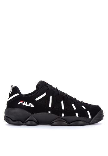 Fila black Spaghetti Low Training Shoes D3E0ASH68569E3GS_1