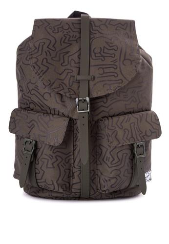 Herschel green Dawson Backpack HE958AC0JPXOPH_1