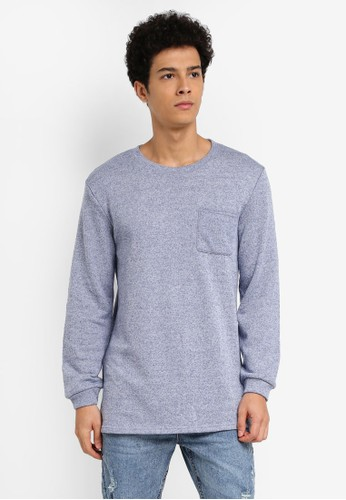 Factorie multi and navy Not So True Crew Jumper AC4A7AA6BBC43CGS_1
