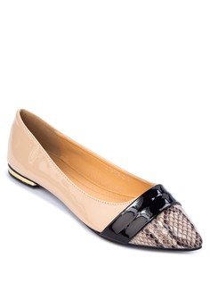 Ada Pointed Toe Flats