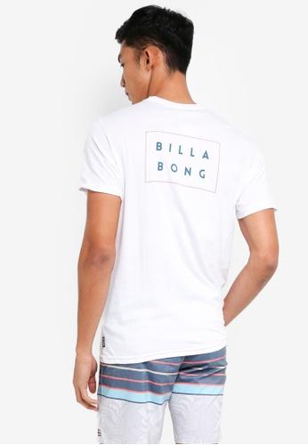 Billabong 白色 短袖印花T恤 BI783AA0SXGLMY_1