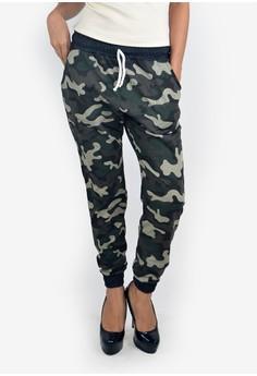 Classic Drawstring Sweatpants Camouflage