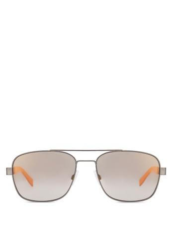 Boss Orange black Navigator Sunglasses BO434GL82HSBMY_1