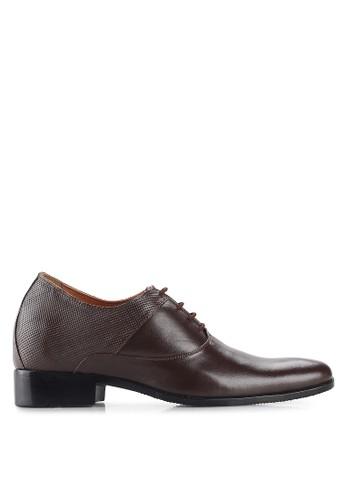 Keeve black Keeve Shoes Peninggi Badan Formal 100- BROWN DC531SH799B38DGS_1
