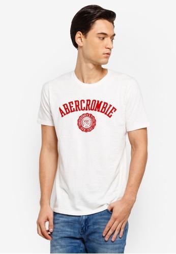 Abercrombie & Fitch white Tech Legacy T-kemeja BF646AA19021B0GS_1