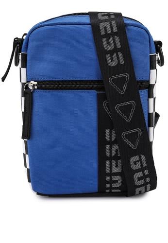Guess blue Speed Racer Crossbody Bag 345A3AC8246954GS_1