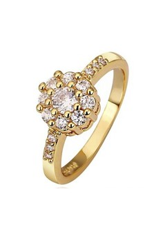 18k Gold Plated Rosita's Ring (Size 7)