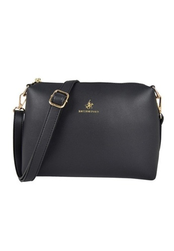 British Polo black British Polo New Women Sling Bag With Compartment 0DA08AC287C198GS_1