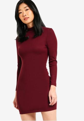 09e7449b656 Buy Something Borrowed Long Sleeves Bodycon Dress Online on ZALORA ...
