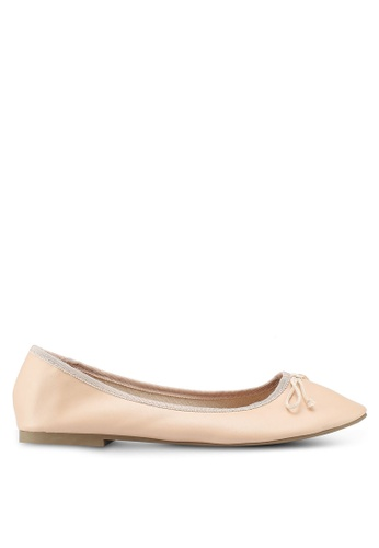 TOPSHOP beige Verity Ballet Pumps 00B74SH96089C8GS_1