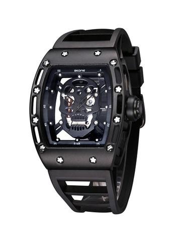 Sk Time Watch Shop black Japan Design Skone Skull watch 0821AACFE8AF8AGS_1