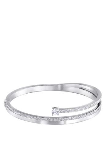 SWAROVSKI silver Fresh Bangle 7A819AC0684D7CGS_1