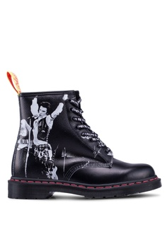 5befd4b0a18 Dr. Martens black 1460 Sex Pistols 8 Eye Boots 2BFE8SH4CA38D9GS 1