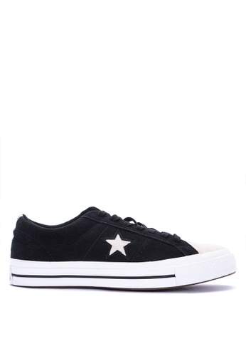Converse black One Star Woven Era Sneakers C7C40SHFD98920GS_1