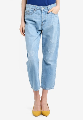 ESPRIT blue Denim Length Service Jeans 43728AA73C84CFGS_1