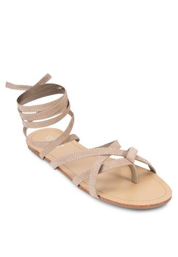 Sofesprit 香港ie Ballerina Strappy Sandals, 女鞋, 鞋