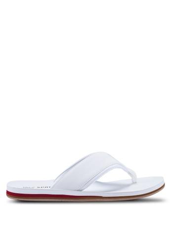 Call It Spring white Jickson Beach Sandals A3AAFSHA04F134GS_1