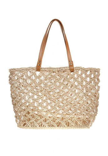 Style Cat brown and beige Style Cat Valencia Macrame Carry-All 23541ACBAEB4B6GS_1