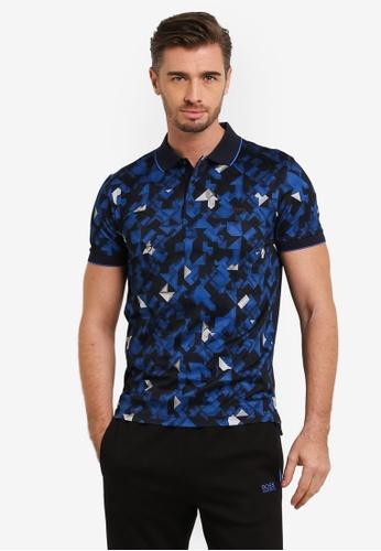 Boss Green navy Paule 2 Polo Shirt BO516AA0RIC3MY_1