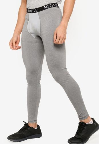 ZALORA ACTIVE grey Active Leggings 5D7F2AABA3BEF6GS_1