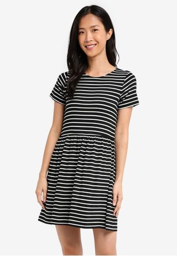 ZALORA black Essential Baby-Doll Dress 6805AAA717B972GS_1