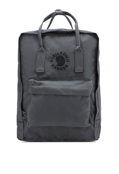 0007f55fc111 Fjallraven Kanken grey Slate Re-Kanken Backpack FJ382AC97ZNEMY 1