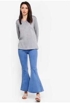 ec1537110c5 15% OFF Zalia Wrap Front Tunic RM 69.00 NOW RM 58.90 Sizes XS S M L XL