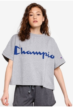 160ef8326387 Champion grey Japan Range Short Sleeve Big T-Shirt 76901AA4A40081GS_1