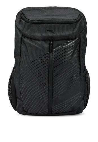 Anta black Sports Classic Backpack F06B7AC3604C44GS_1