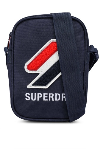 SUPERDRY blue Sport Style Side Bag - Sportstyle Code 5C1BEAC44E6C9EGS_1