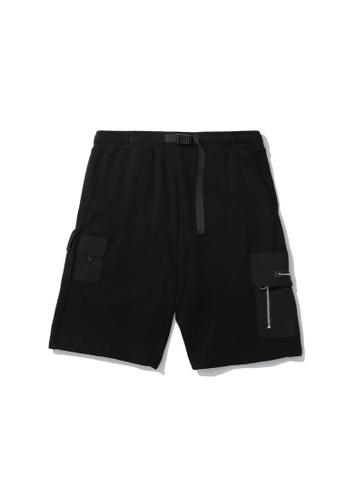 Fivecm black Logo cargo shorts 4E830AA3AA0520GS_1