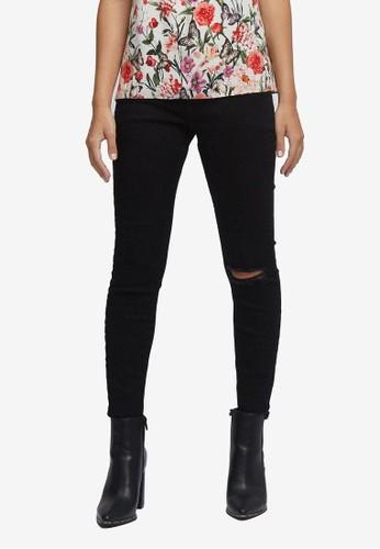 Dorothy Perkins black Petite Black Darcy Jeans 5E7B2AA7853AFDGS_1