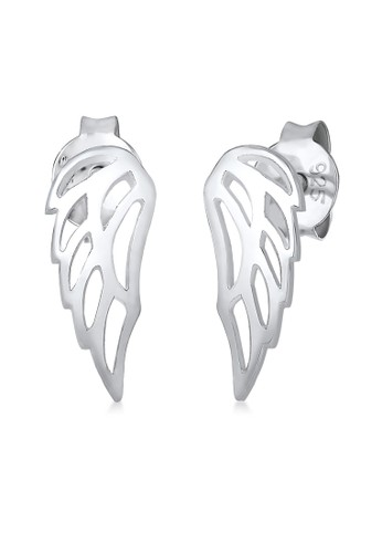 Elli Germany silver Elli Germany 925 Sterling Silver Anting Wing Basic Ornament Silver DFAD2AC3BE81E7GS_1