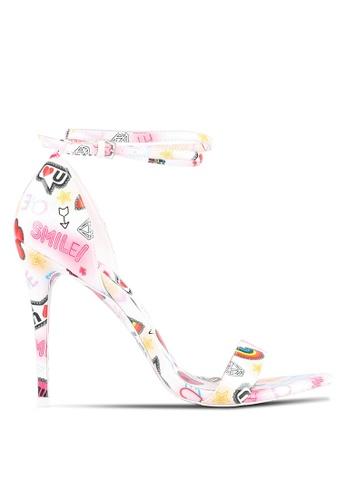 ALDO white Sandyy Heels AL087SH0RPXDMY_1