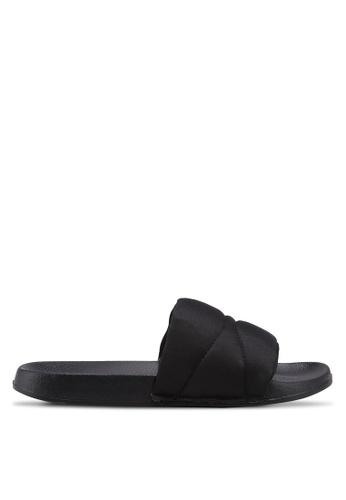 Bata 黑色 休閒拖鞋 56406SHA0871F9GS_1