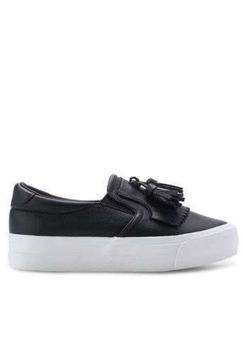 Twenty Eight Shoes black Tassel Slip-Ons5122 TW446SH46UEJHK_1