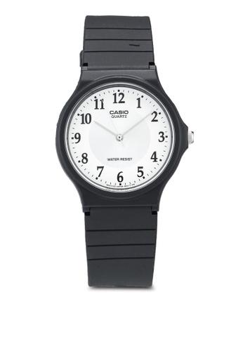 Casio black Casio MQ-24-7B3LDF Watch DAB7CAC640AF36GS_1