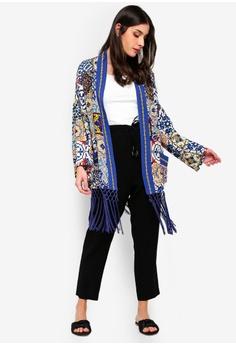 46d309fe66 45% OFF Desigual Modernist Print Kimono Cardigan HK$ 1,279.00 NOW HK$  699.50 Sizes S M L