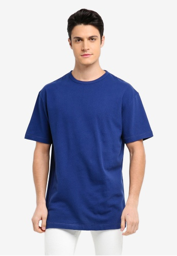 French Connection blue Ampthill Oversized T-Shirt A9212AA725B5D5GS_1