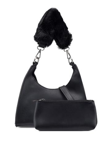 Berrybenka black Furish Decca Shoulder Bag 64F66ACB821E00GS_1