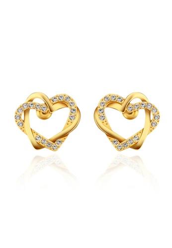 Sopistikada Gold Shaina 18k Plated Earrings So776ac43swqph 1