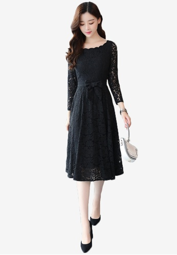 28f233d0c39 Buy Halo Elegant Full Lace Midi Dress