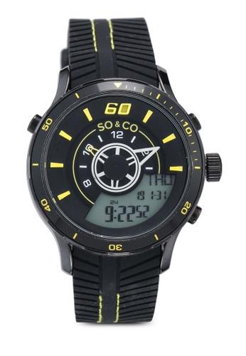 SO&CO black Monticello 5035.6 Watch 174ECAC225BC8FGS_1