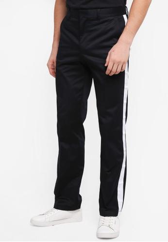 Calvin Klein black Galon Straight Chino - Calvin Klein Jeans F76D7AA6723A5CGS_1