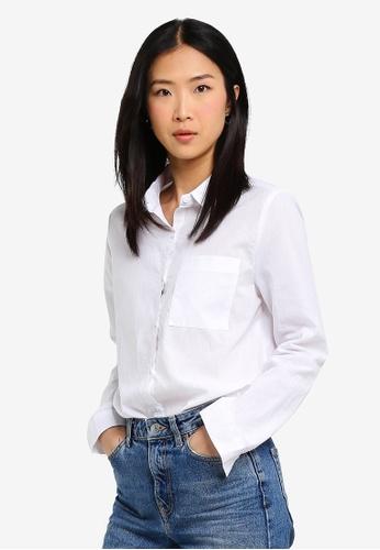 Cotton On white Casual Rebecca Shirt D745DAAEEB2F38GS_1