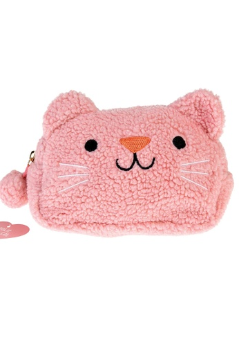 Ribbons+Wheels pink Rex London Cookie The Cat Small Pouch 9D7FBKC5F2DBDDGS_1