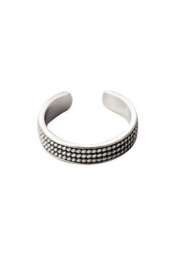 A-Excellence silver Premium S925 Sliver Geometric Ring 59AFAACD18EEC7GS_1